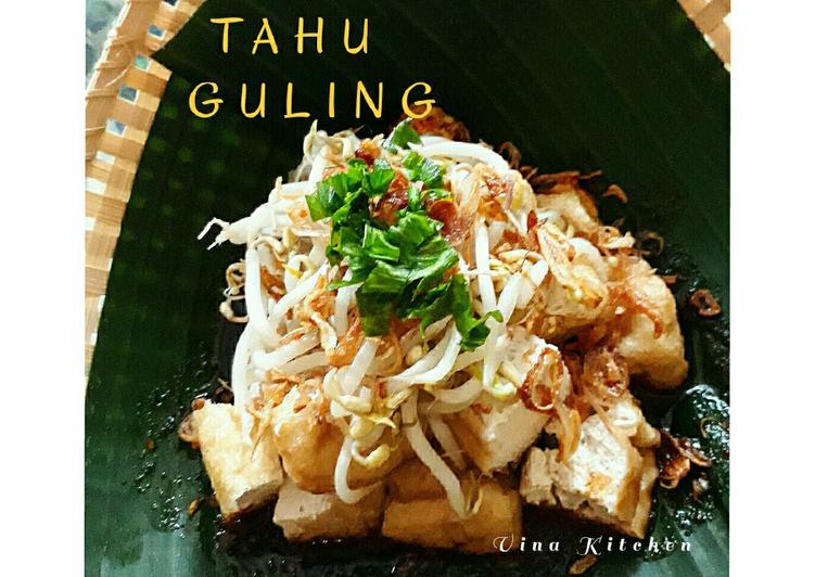 TAHU GULING (ala vina ghatfan) #rabubaru