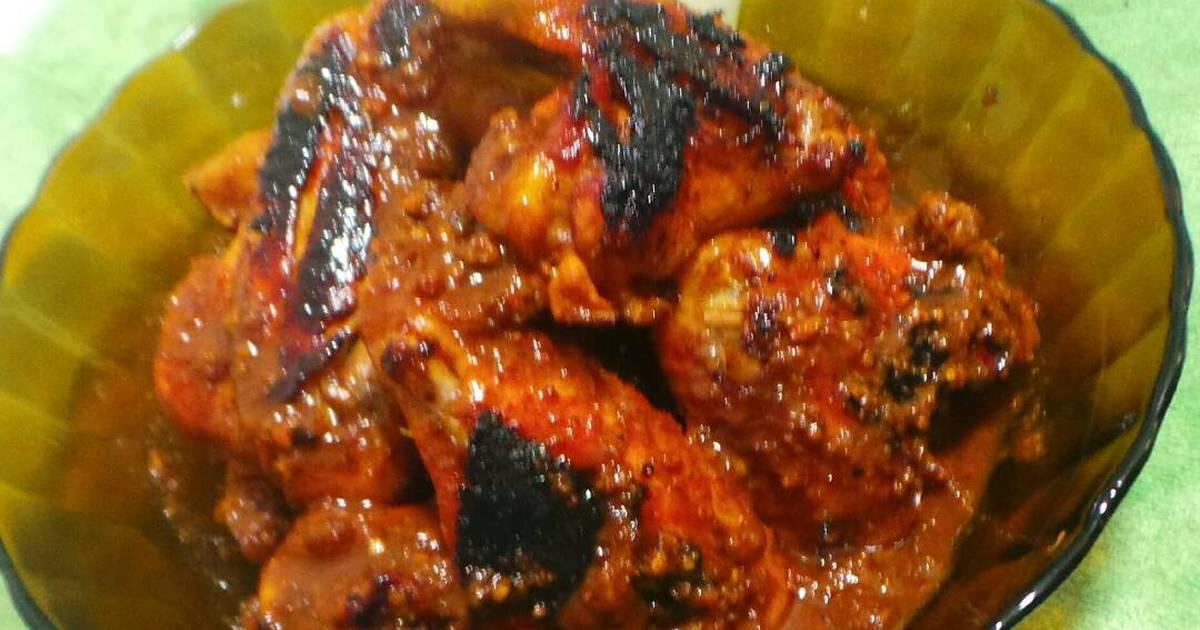 inspirasi  resep ayam geprek bumbu kacang Resepi Ikan Kembung Bakar Pedas Manis Enak dan Mudah