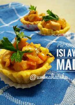 Pie Singkong Isi Ayam Madu#indonesiamemasak