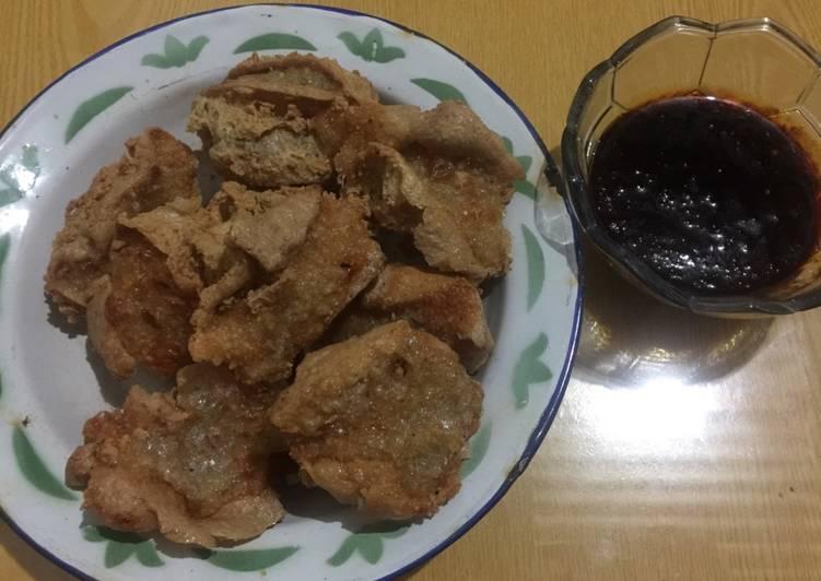 Resep Tahu Walik Isi Ayam Wortel Pedas Oleh Elvia Rosita