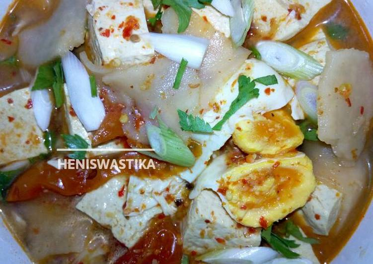 Sup tahu putih 🍲 #RabuBaru #BikinRamadanBerkesan