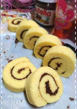 Ogura cotton cake roll(OCC roll w nuttela,lentur anti retak)