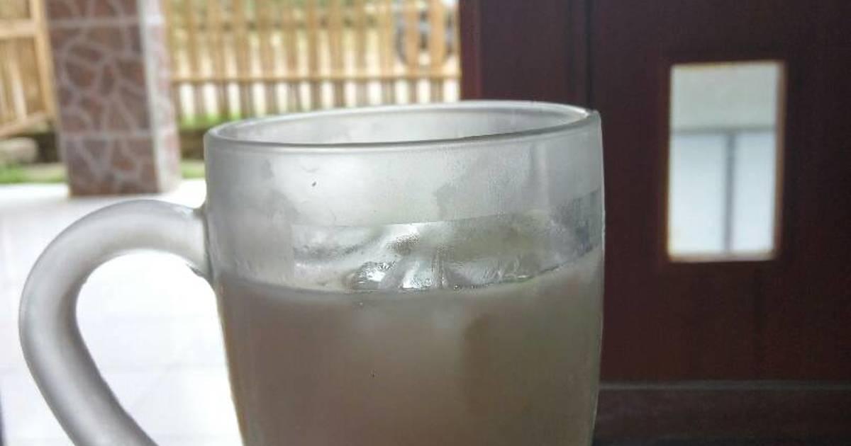 Resep Es kelapa muda leci