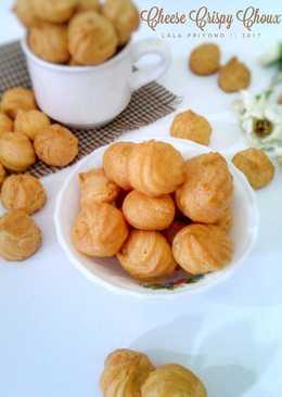 Sus Kering Keju a.k.a Cheese Crispy Choux