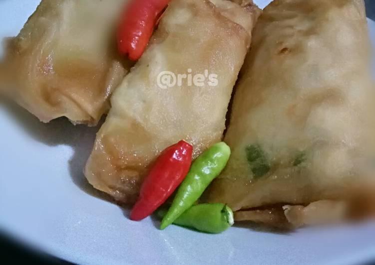 Martabak kentang bakso mini #BikinRamadhanBerkesan #6