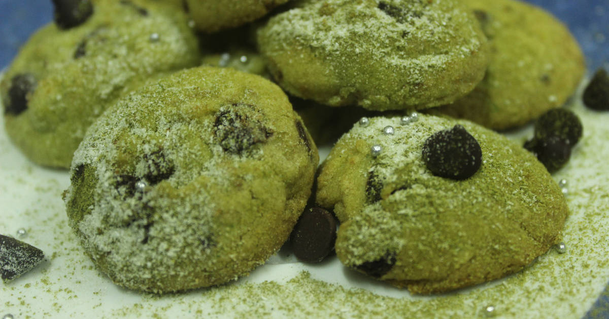 Resep Matcha ChocoChips Cookies