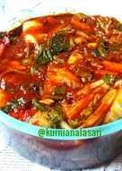 Kimchi bumbu lokal