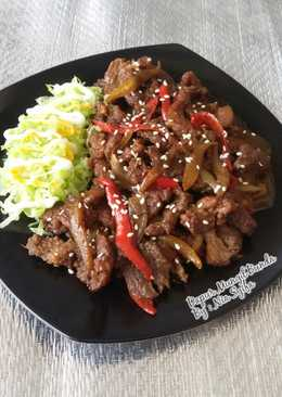 Beef Teriyaki Lada Hitam