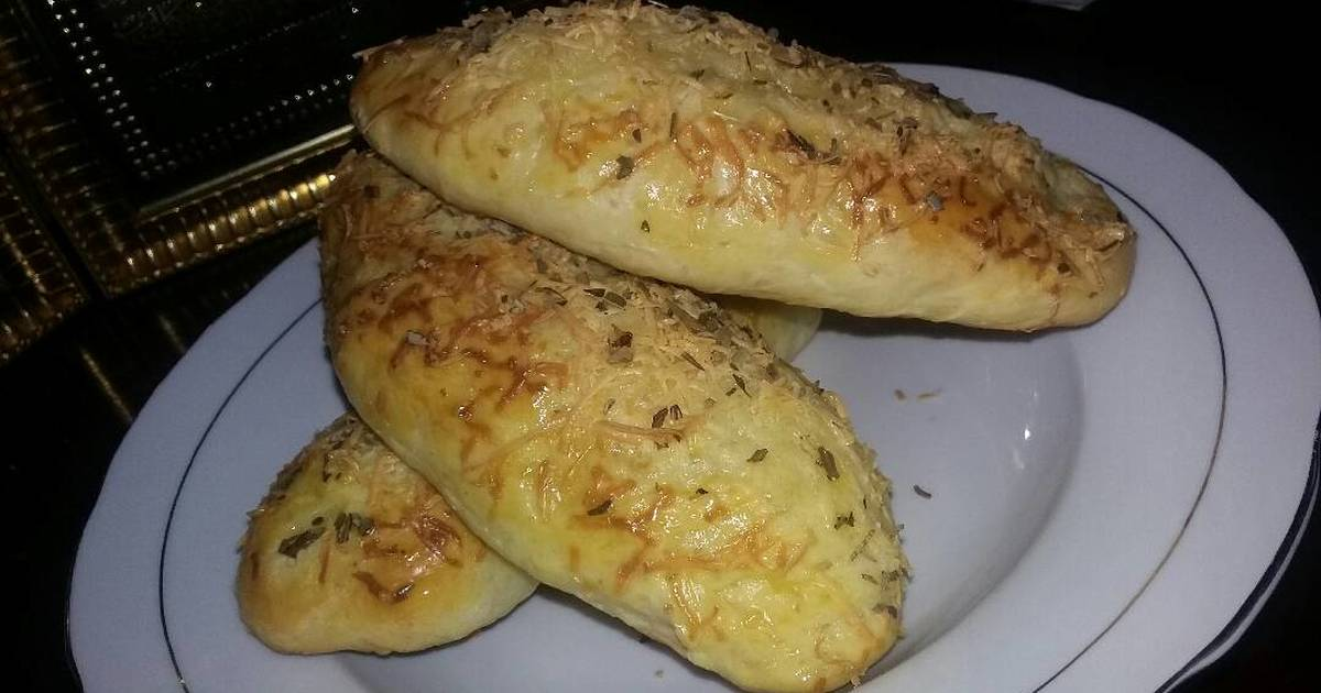 Resep Roti Stick Keju/ Cheese Breadstick