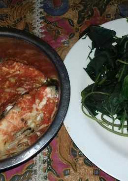 Steam gurame bumbu sambal diet kenyang ala hughes