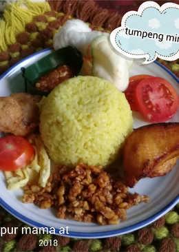 Nasi Kuning Tumpeng Mini #PR_VivaTalkLife