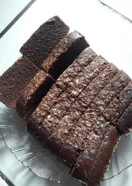Brownis kukus chocolatos sederhana