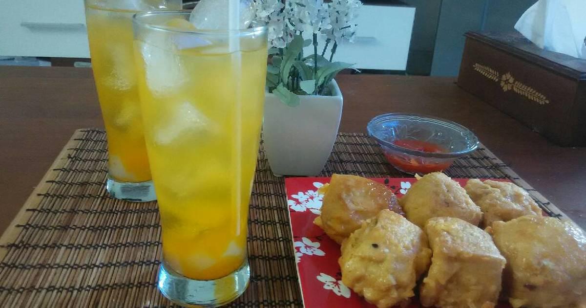 Resep Markisa orange squash