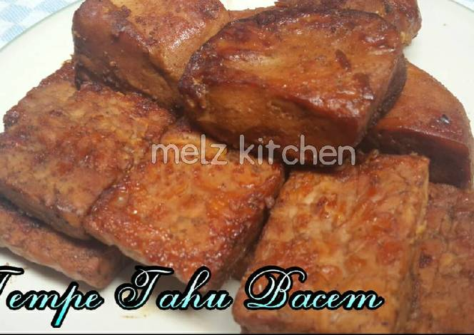 Sambal Tahu Telor or Tofu and Eggs in fried chillie paste