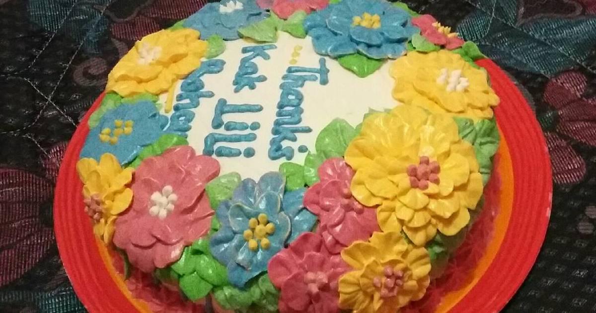 Resep Base cake BOLU EKONOMIS ala Heny ZanVer