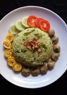 Nasi Goreng Ijo Baso Sapi (#PR_BukanNasiBiasa)