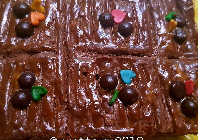 Lekker Holland Coklat Botercoek Coklat tanpa mixer kaya brownies