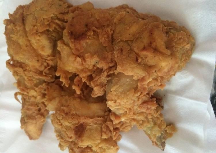 Resep Ayam Goreng Kentucky Kiriman dari Julia Kristina Lily