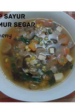 Resep Sayur Sop Pake Ceker