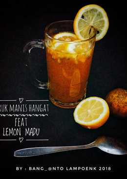 Jeruk Manis Hangat Feat Lemon Madu