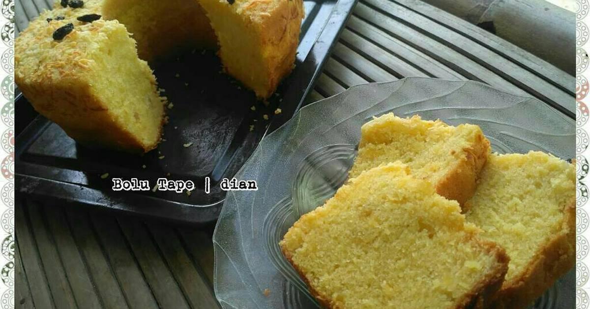 Resep Cake Tape Jadul: Resep Cake Tape Keju / Bolu Tape (chenniezhang) Oleh Dian