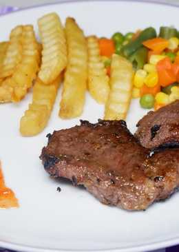 22. Steak Home Made #BikinRamadanBerkesan
