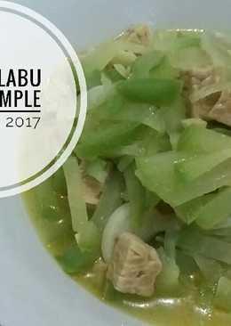 Sayur Labu Siam Simple