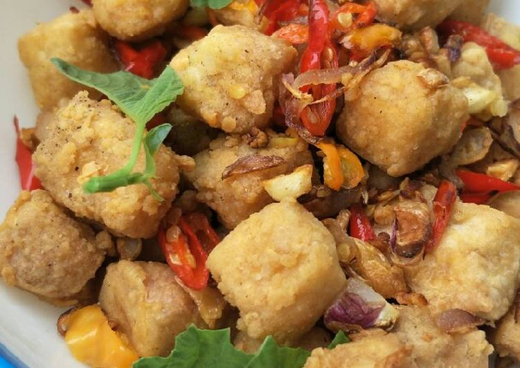 Tahu Cabai Garam SIMPLE #BikinRamadanBerkesan