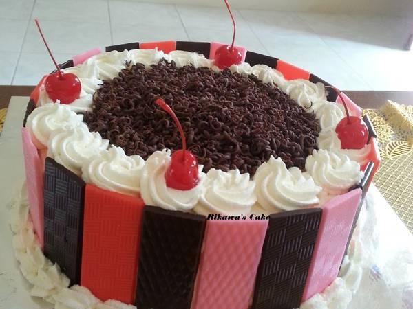 Black Forest Kukus Lembut, Base Cake Brownies Kukus Ny. Liem