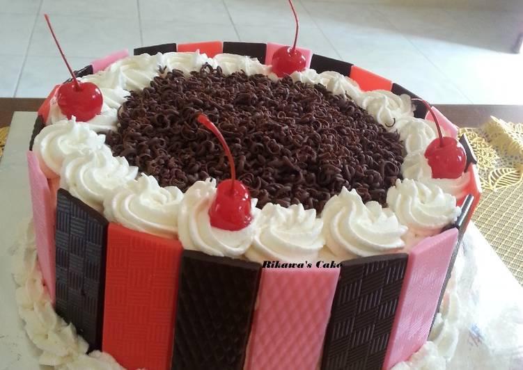 Resep Cake Kukus Yang Lembut: Resep Black Forest Kukus Lembut, Base Cake Brownies Kukus