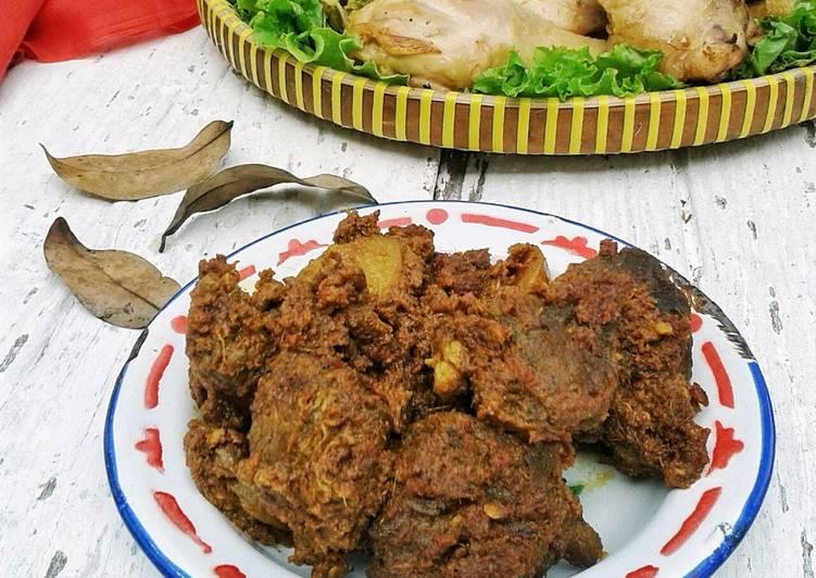 2. Rendang Daging #RabuBaru