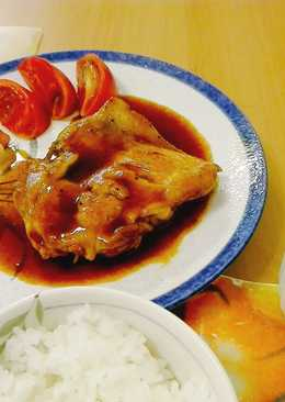 Simple Japanese Chicken Steak Favorit Anak