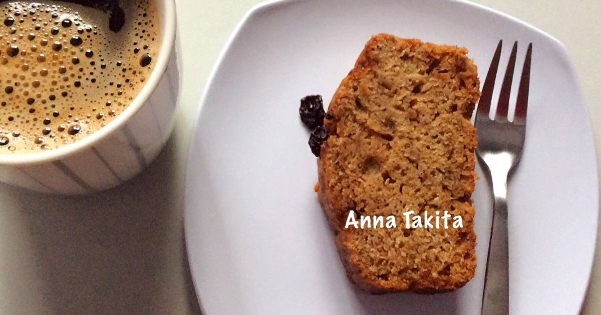 Resep Banana Cake Khas Jepang: Resep Banana Cake Gula Palem Oleh Anna Takita