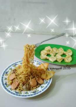 Mie goreng melayang (magic)
