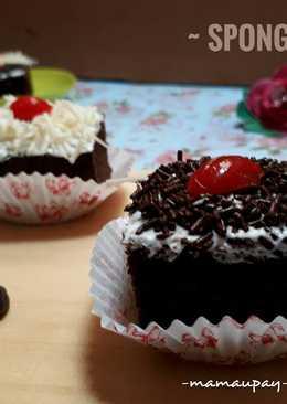 89 resep choco mocca birthday cake enak dan sederhana Cookpad