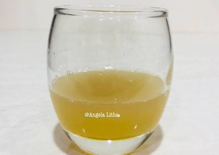 Air lobak & madu,obat batuk herbal