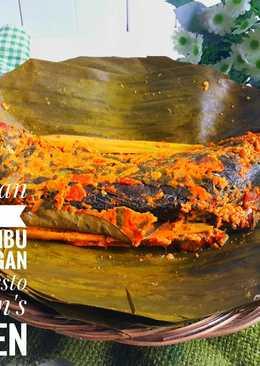 Pepes Ikan Mas Duri Lunak Bumbu Super dengan Teknik Presto