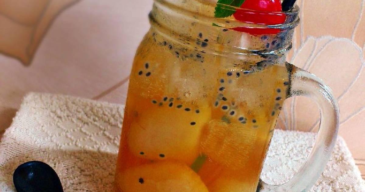 Resep Sparkling Lychee Tea