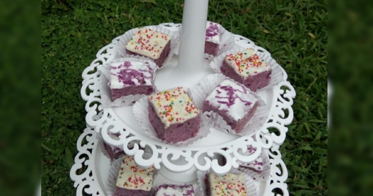 "Resep Cake Kukus Ubi Ungu: Resep Brownies Kukus Ubi Ungu Oleh ""Yumma Kitchen"" By"