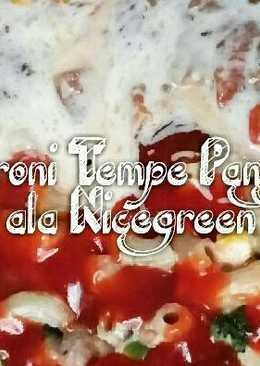 Macaroni Tempe Panggang ala Nicegreen