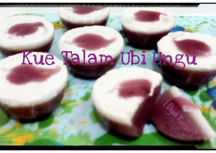 Resep Cake Ubi Ungu Kukus Sajian Sedap: Resep Kue Talam Ubi Ungu Oleh Diyah Kuntari