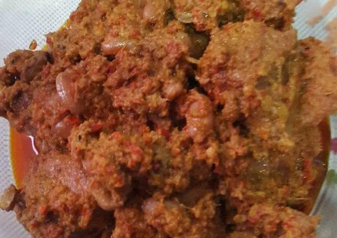 resep rendang daging amp kacang merah oleh ine0 cookpad