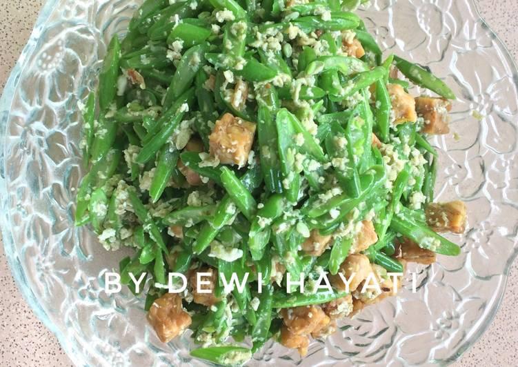 Resep Tumis Buncis Telur Orak Arik oleh Dewi Hayati - Cookpad