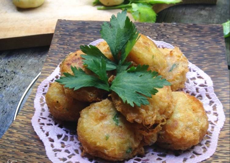 Resep Perkedel Kentang Kukus : awet sampai sebulan Oleh Farah's Cooking