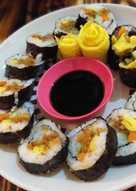 Sushi abon simple