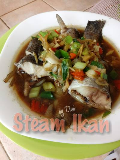Steam Ikan Keto #ketopad