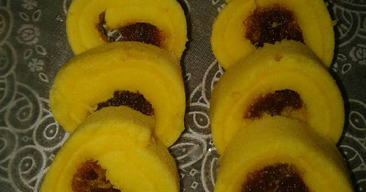 Resep mini roll cake