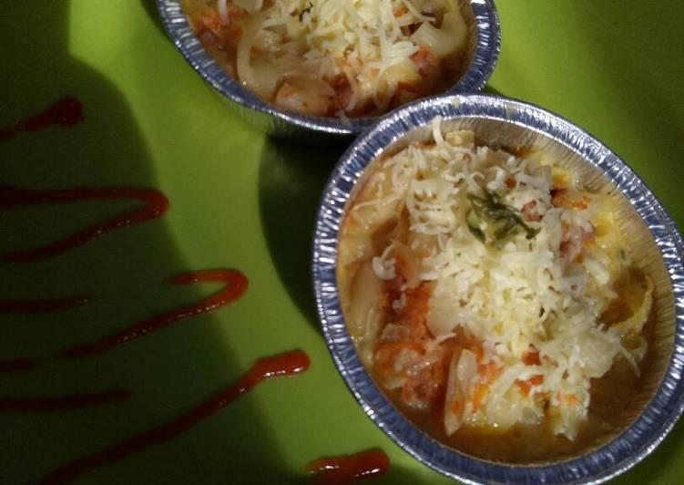 Resep Makaroni mix spagheti Schotel ala anak kos oleh Ghina sr Resep Makaroni mix spagheti Schotel ala anak kos Oleh Ghina sr