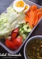 Salad dan dressing