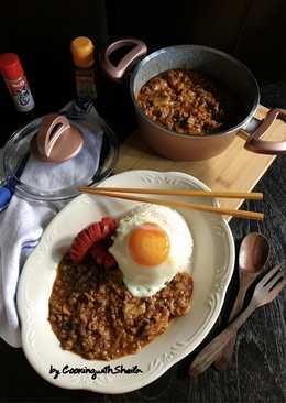 Hayashi Rice Kreasi untuk Karaca Bio Granite Pan